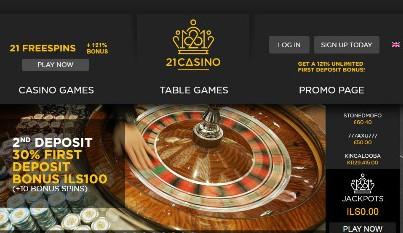 21Casino Live Casino Games