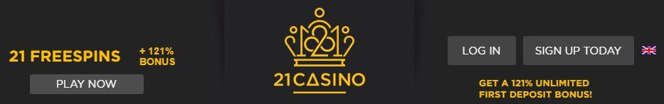 21Casino Live Casino Top