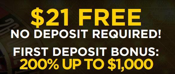 Casino 21 Bonus