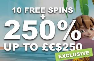 Guts Live Casino Exclusive Bonus