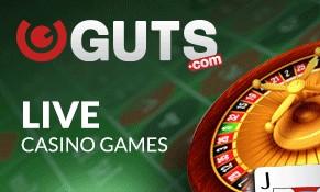 Guts Live Casino Live Games