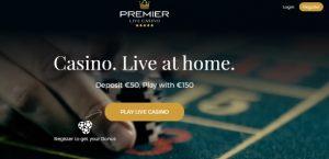 Premier Live Casino Face