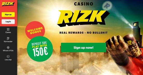 Rizk Live Casino Face